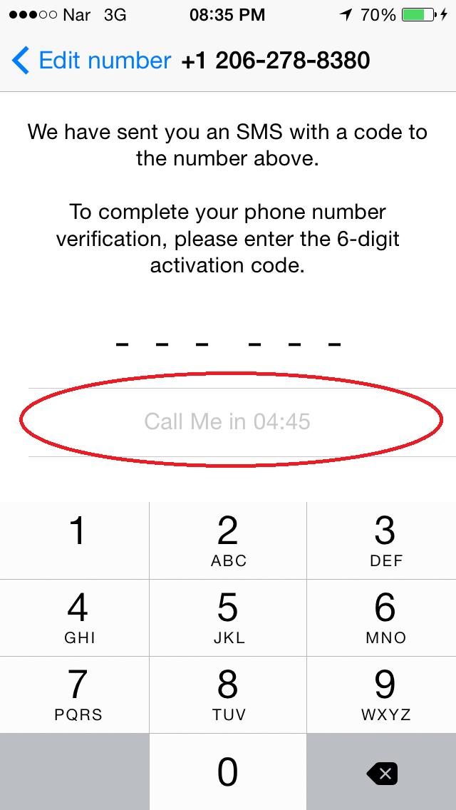 """Whatsapp-ı """"saxta nömrə"""" ilə qeydiyyatdan keçirtmək [şəkilli izah] 10"""
