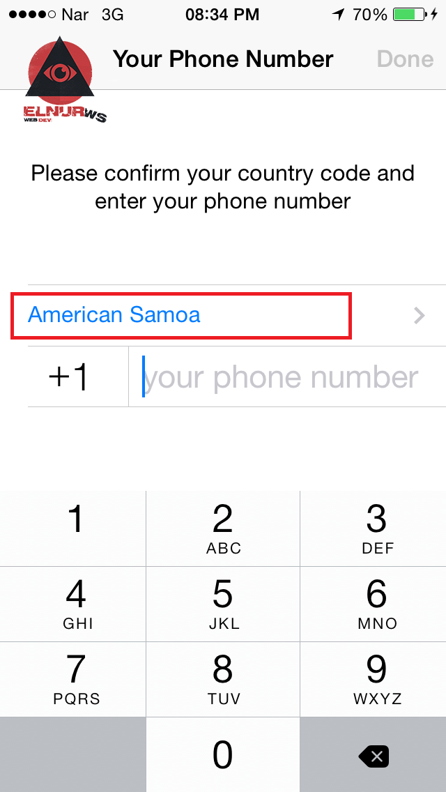 """Whatsapp-ı """"saxta nömrə"""" ilə qeydiyyatdan keçirtmək [şəkilli izah] 6"""